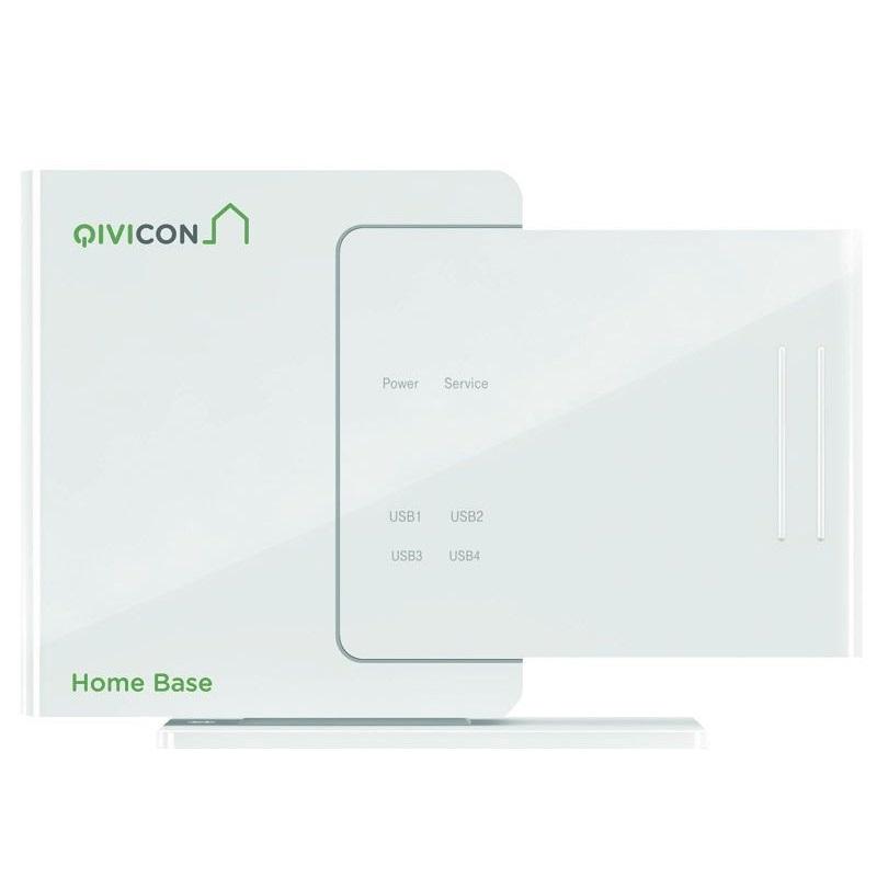 telekom qivicon magenta smarthome home base v2 basis station in wei neu ovp ebay. Black Bedroom Furniture Sets. Home Design Ideas